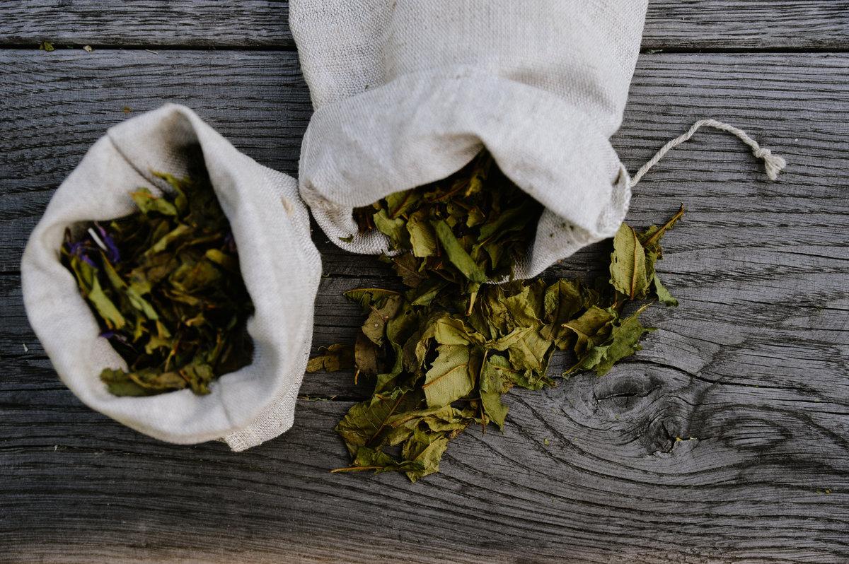 Tēja linu maisiņā