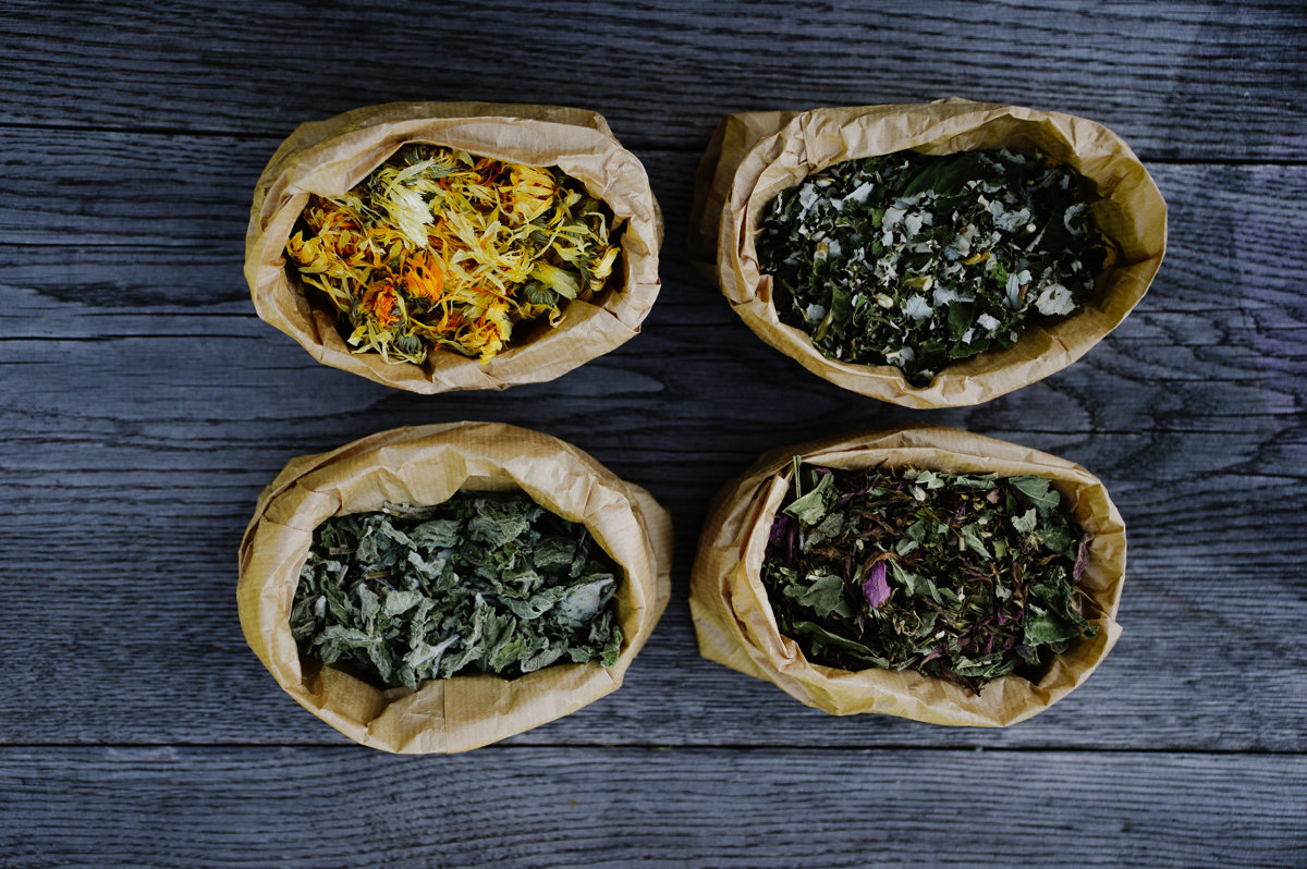"""Lauku tēja """"Ehinācija ar piparmētru"""" - """"Echinacea with mint"""""""